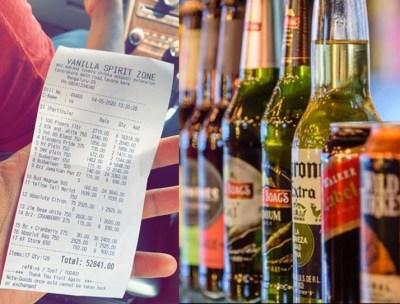 Bengaluru men bought liquor for rs 52,841