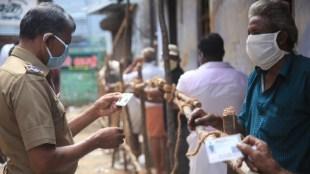 Policeman who deployed for TASMAC bandobust infected with coronavirus in Arani
