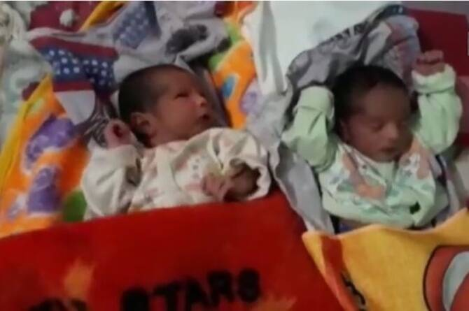Meerut couple named their twins sanitizer, quarantine