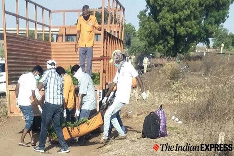 Aurangabad train accident migrant workers faced hunger last phone call to family members