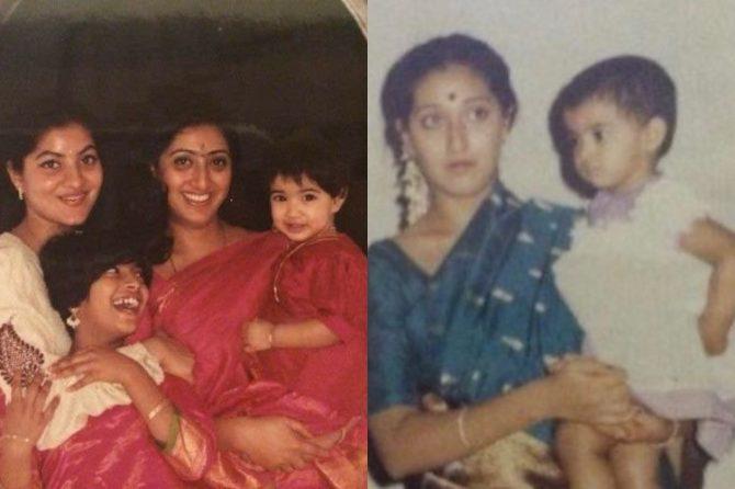 varalakshmi sarathkumar childhood images