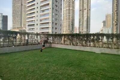 Indian cricket team captain Virat Kohli training during quarantine video