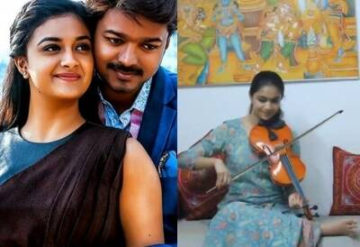Actor Vijay 46th birthday Keerthy Suresh's special tribute