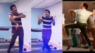 Tiktok viral video of young man dancing exactly like Kamal Haasan for Annathe aadurar song