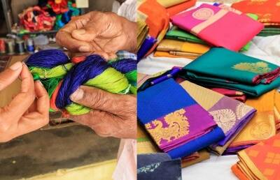 Sirumugai hand loom sarees from the hand spun to handwoven special photo gallery