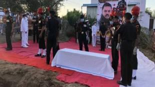 Army Man Palani funerals