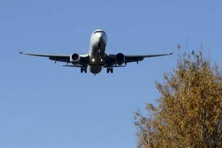 Foreign flight service suspended