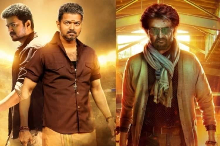 Highest Grossing Tamil Movies, Superstar Rajinikanth, Thalapathy Vijay, Bigil, Darbar