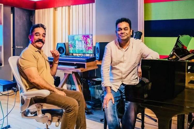 Kamal Haasan AR Rahman Live, Thalaivan Irukkindran