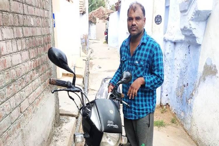 Man returns bike through parcel at coimbatore
