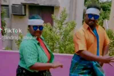 விஜய்க்காக மாஸான லுங்கி டான்ஸ்;  பாண்டியம்மாவின் வைரல் வீடியோ