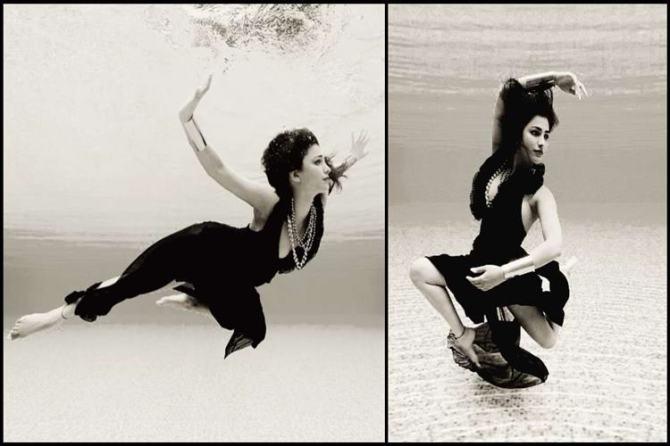 Shruti Haasan Underwater Photoshoot