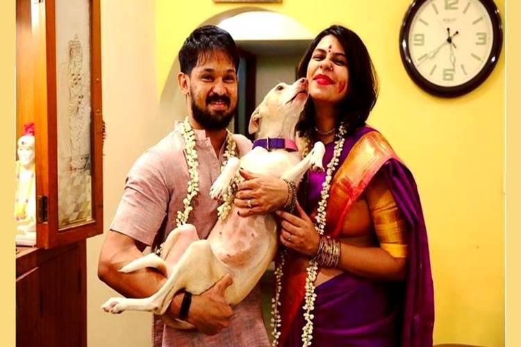 Sruthi Nakkhul baby shower function