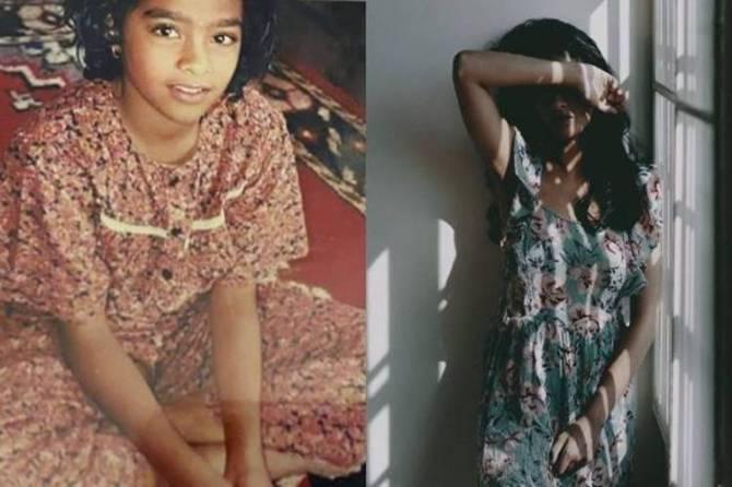 Tamil Cinema News, Gayathrie Shankar Childhood Picture