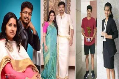 Thalapathy Vijay, Happy Birthday Vijay, Vijay Family