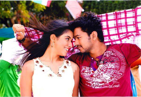 Thalapathy Vijay with Asin