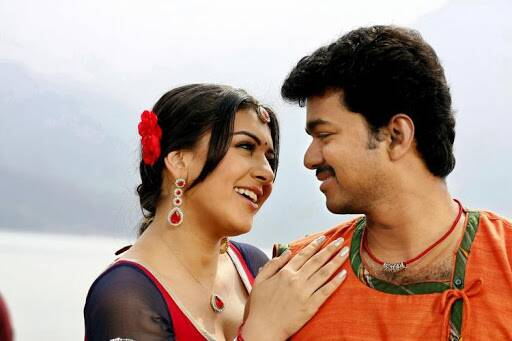 Thalapathy Vijay with Hansika