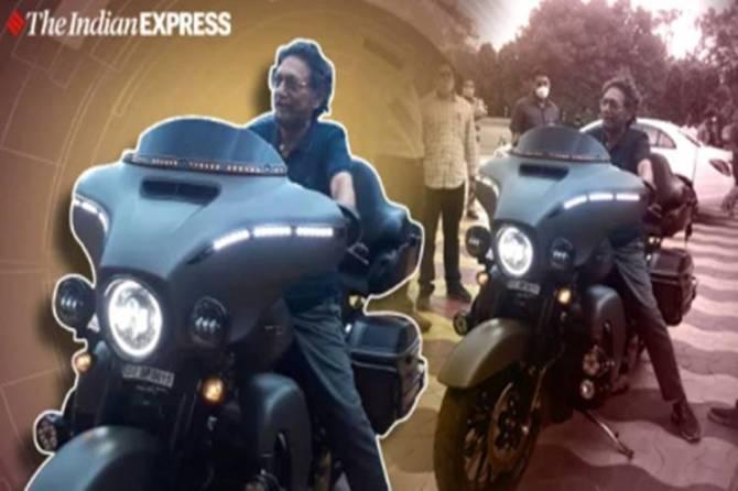 chief justice of india sharad arvind bobde harley davidson superbike viral picure, twitter reactions, trending, எஸ்.ஏ.பாப்டே, ஹார்லி டேவிட்சன், உச்சநீதிமன்ற தலைமை நீதிபதி,
