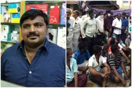 Sathankulam father son lock up death, father son lock up death in kovilpatti, public protest in kovilpatti, தந்தை மகன் மரணம், கோவில்பட்டியில் தந்தை மகன் லாக்அப் மரணம், சாத்தான்குளம், public demand justice, tuticorin, sathankulam, kovilpatti, father son lock up death, relatives protest