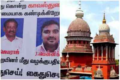 sathankulam father son lock up death, tamilnadu Police