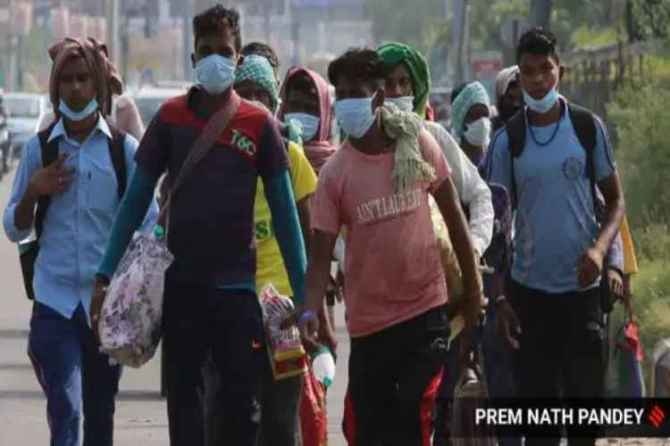 corona virus, lockdown, covid pandemic, migrant workers, financial support, central government, najeeb jung, delhi union territory, governor, migrants india lockdown, migrant workers coronavirus, migrant exodus india