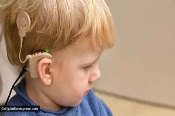 Children, hearing inpaired, hearing loss, hearing ability, hearing aids, cochlear implants, deafness, parenting, indian express, indian express news,