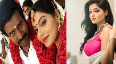 விமான பணிப்பெண் டூ சூரி ஜோடி… பிக் பாஸ் ரேஷ்மா அழகோஅழகு!