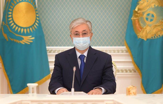 கஜகஸ்தான் நாட்டு அதிபர் காசிம் ஜோமர்த் டொக்காயேவ் (Kassym-Jomart Tokayev)
