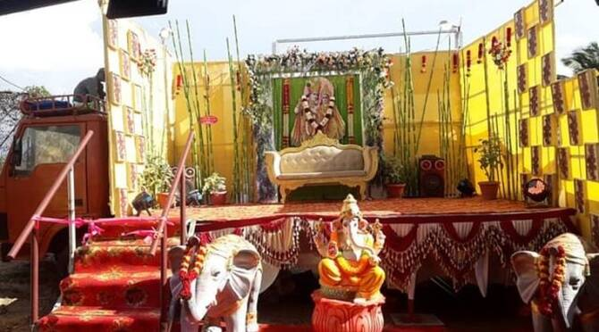 Tiruppur Mobile marriage hall receives great response from people