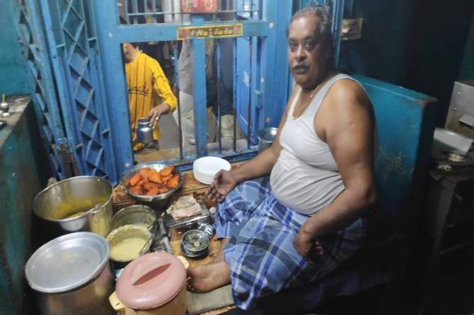 Mylapore Jannal Bajji Kadai ramesh passed away