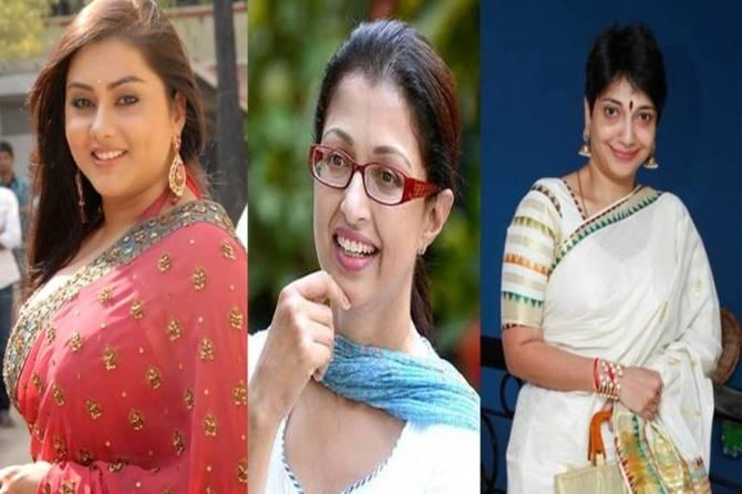 Namitha, Gauthami, Madhuvanthi, Kutty Padmini selected as BJP executive committee member