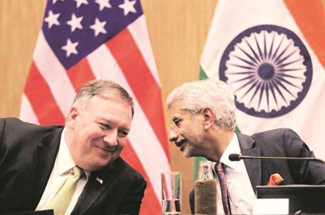 Called Jaishankar several times, China action incredibly aggressive: Michael R Pompeo