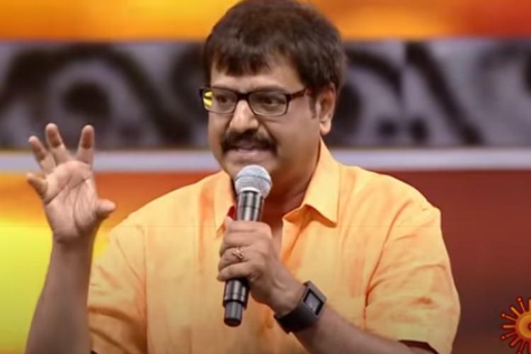Stunt Union Function, Sun TV Vivek Speech