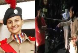 Surat : Constable Sunitha Resigns her job for stopping BJP minister's son roaming on curfew hours