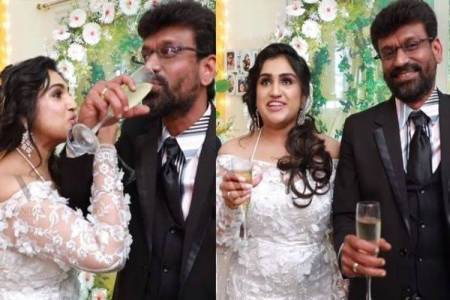 Vanitha Vijayakumar Peter Paul Wedding unseen video