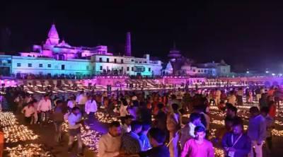 News Today: ராமர் கோயில் பூமி பூஜை – வண்ண விளக்குகளால் மிளிரும் அயோத்தி