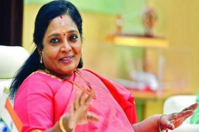 Telangana Governor Tamilisai Soundararajanm Corona virus , ஆளுநர் தமிழிசை, தெலங்கானா ஆளுநர் மாளிகையில் கொரோனா