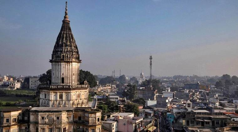 Priest and 16 cops involved in Ayodhya Ram temple pooja event test covid19 positive