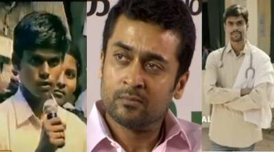 Actor Surya helped a poor student to study MBBS 10 years back