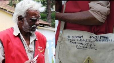 Coonoor mail deliverer Sivan put his life on the line to deliver mails to those living in the forest