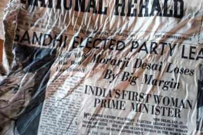 ஆச்சர்யம்: பிரான்ஸ் மலை உச்சியில் 54 ஆண்டு பழமையான இந்திய பத்திரிகைகள்