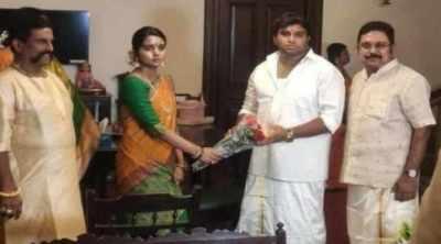 TTV Dhinakaran, sasikala, Krishnasamy vandayar, daughter, engagement, house function, ammk, congress ex. MP, puducherry, january, news in tamil, tamil news, news tamil, todays news in tamil, today tamil news, today news in tamil, today news tamil