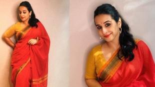 Shakuntala Devi e-promotions: Vidya Balan keeps it simple in Coimbatore cotton sari