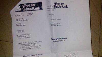 indian bank savings account indianbank savings account
