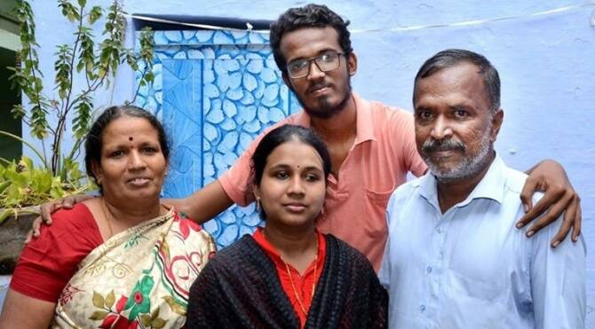 Visually impaired Madurai UPSC aspirant Poorna Sundari cleared civil service exams