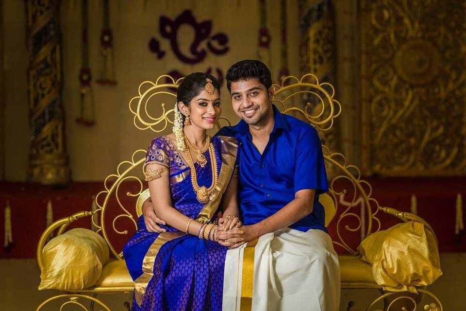 Tamil TV Anchors with their husband