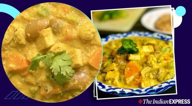 Easy Veg Kuruma Recipe in Tamil, Veg korma