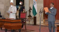 Girish Chandra Murmu sworn in as the Comptroller and Auditor General of India