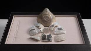 Yvel Israeli jewelry company made the costliest mask on the earth