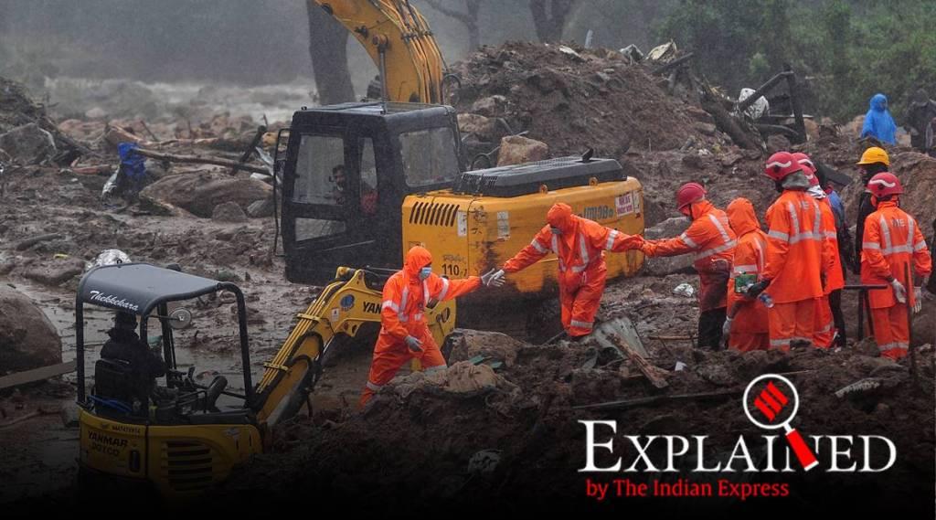 How the Idukki landslide happened :